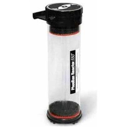 Two Little Fishies Presents Tlf Phosban Reactor 150gal. Tlf Phosban Reactor 550 Phosban Reactor 550 from Two Little Fishies. Rated for Up to 600 Gallon Aquariums. The Phosban Reactor 550 is Designed with the Upflow Principle to Achieve the Most Efficient Use of Phosban or Other Chemical Filter Media. By Pushing Water from the Bottom Upward through a Dispersion Plate, it Forces an Even Distribution of Water through the Media, and Prevents Channeling. It can be Mounted Hanging on the Back of the Aquarium or Below the Aquarium. Includes Ball Valve for Regulating Flow, and Flexible Connection Fittings that Rotate 180 Degrees to Allow a Perfect Custom Fit to your Installation. The Threaded Lid Design Makes Servicing Quick and Easy. Tlf Phosban Reactor 150 the Phosban Reactor 150 is Designed with the Upflow Principle to Achieve the Most Efficient Use of Phosban or Other Chemical Filter Media. By Pushing Water from the Bottom Upward through a Dispersion Plate, it Forces an Even Distribution of Water through the Media, and Prevents Channeling. It can be Mounted Hanging on the Back of the Aquarium or Below the Aquarium. Hose Barb Connections are for 1/2 Inch I.D. Tubing. Includes 1/2 Inch Barbed Ball Valve for Flow Control, and Hose Clamps. Recommended Flow Rate is 80 to 90 Gallons Per Hour. [30500]