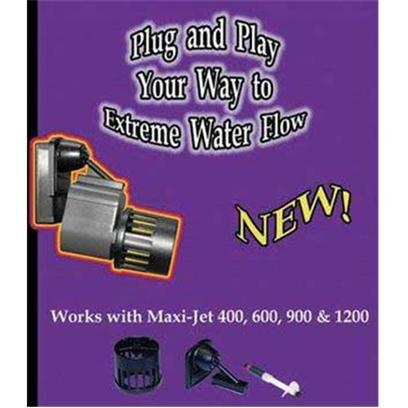 Algae Free Presents Alg Sure Flow 1600 Upgrade Kit Maxijet. Kit Contains Everything you Need to Upgrade the Flow Rate of your Maxijet Power Head. It Fits all Four Sizes and Provides Up to the Following Flow Rates Maxijet 400 1300gph Maxijet 600 1400gph Maxijet 900 1550gph Maxijet 1200 1600gph (2100gph with Large Propeller) can be Mounted with Original Maxijet Mounts or with Optional Sure Grip Magnet Mounts [30880]