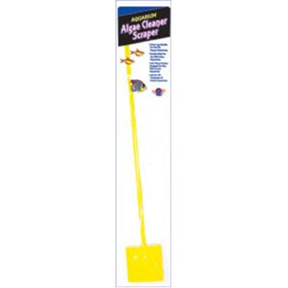 Blue Ribbon Presents Blue Ribbon (Br) Algae Cleaner Scraper Stick. Double-Sided Soft Sponge and Heavy Duty Cleaning Pad on 20 Inch Long Handlesafe for Glass and Plexi-Glass Surfaces 20 Inch Long Handle [30908]