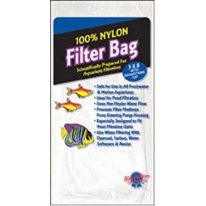 Blue Ribbon Presents Blue Ribbon (Br) Nylon Filter Bag Large. 8 X 3 Soft Nylon Filter Bag with Drawstring - Ideld for Most Filter Mediums [30912]