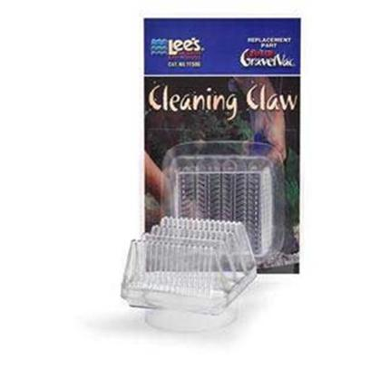 Lee's Presents Lees Ultimate Vacuum Cleaning Claw. Protects Fish from Being Drawn into the Hose During Draining and Cleaning of the Aquarium; Acts as a Showerhead to Soften the Impact of Water on Fish and Plants During Refill. Can be Added as an Attachment to any 2' Dia. Gravel Vacuum Cylinder. Packaging Blister Card [31047]