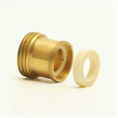 Python Aquarium Presents Python Brass Faucet Adaptor Adaptor-Brass. Without Regular Water Changes, Invisible Toxins can Build-Up in your Aquarium Creating a Dangerous Environment for its Inhabitants. Because Fish and Decor are not Disturbed During Routine Aquarium Maintenance, our Products are Less Stressful on Both Fish and Owner Making it Easier to 'Break Down' and Clean your Tank on a More Regular Basis. [31090]