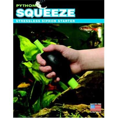Python Aquarium Presents Python Squeeze Siphon Starter. Without Regular Water Changes, Invisible Toxins can Build-Up in your Aquarium Creating a Dangerous Environment for its Inhabitants. Because Fish and Decor are not Disturbed During Routine Aquarium Maintenance, our Products are Less Stressful on Both Fish and Owner Making it Easier to 'Break Down' and Clean your Tank on a More Regular Basis. [31112]