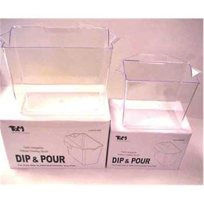 Tom (Tominaga/Oscar) Presents Tom Dip &amp; Pour Container Multi Purpose Large. Multi Purpose Bag Holder. Ideal for Adding Water to Fish Bag or as a Specimen Container. [31143]