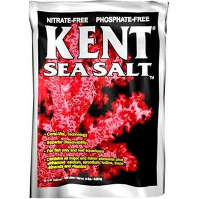Kent Marine Presents Kent Marine (Kent) Sea Salt 200gal (Bucket). Manufacturers' Claims, Even Ours, are Always Biased. So Called Technical Evaluations and 'Government Reports' are Advertisements with Data Always Slanted to Suit the Advertiser. Many will have Questionable, at Best, Circumstances of Evaluation, Such as no Control over how Samples were Collected. We Understand that One Manufacturer Collected his Own Samples and Sent them, Mixed with Water, to the Test Lab! No Matter how Accurate the Lab Test, it is Worthless without Impartial Sample Collection. Try Kent Sea Salt, you will see Sustained Long Term Results in your Aquarium that you Won't see with Other Brands. At Kent, we Spare no Expense to Bring you the Finest Sea Salt that Money can Buy. Ours is not the Cheapest Sea Salt, but don't your Animals Deserve the Best Environment you can Give Them? [31185]