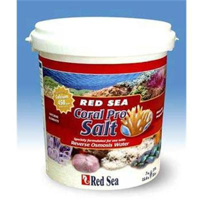 Red Sea Fish Pharm Presents Red Sea Coral Pro Salt 55gal (Pail). Specially Formulated for the Use with Reverse Osmosis Water Red Sea is Please to Announce the Addition of an Innovative New Salt Formula Designed to Meet the Needs of Today`S Advanced Hobbyist. Coral Pro Salt has been Specifically Formulated for Use with 'Mineral Free' Reverse Osmosis, or Soft Tap Water and Contains the Elevated Levels of Calcium and Buffer Capacity that Provide the Extended Availability of these Elements, Essential for Vibrant Coral Growth. Utilizing the Same Natural Sea Minerals Used in Red Sea Salt the New Coral Pro Salt will Enable all Reverse Osmosis Users and Reef Enthusiast a Superior Product with out the Need for Immediate Supplementation. Chemically Balanced Formula to Support the Most Delicate Corals and Other Marine Life Reaches a Stable, Natural Ph Shortly After Mixing Free of Nitrates &amp; Phosphates Produced by a Small Batch Process to Ensure Homogeneity and Consistency of the Salt Mixture Corals, Calcareous Algae and Other Invertebrates Use Large Amounts of Calcium for the Building of their Skeletons or Shells. The Calcium Level in Natural Seawater at 35ppt is Approximately 400 Ppm. The Coral Pro Formula Provides Elevated Levels of Calcium at the 'Lower than Natural' Salinities Preferred in Reef Aquariums. Table Shows Calcium Levels of Coral Pro Mixed in Ro Water at 24c 75f and Salinity. [31191]