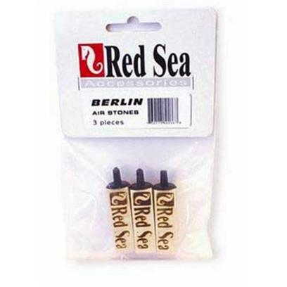 Red Sea Fish Pharm Presents Red Sea Berlin Airstone 3pk for Skimmers. Replacement Wooden Airstone for Air Driven Protein Skimmers. Fits Both Belrin Air Lift Skimmers and Most Other Brands. [31266]