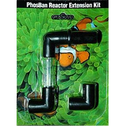 Two Little Fishies Presents Tlf Phosban Reactor Extension Kit. The Phosban Reactor Maximizes Efficient Use of Chemical Filter Media. Up-Flow Principle Pushes Water from the Bottom Upward through the Dispersion Plate to Gently Fluidize Chemical Filter Media. Even Distribution of Aquarium Water through the Phosban Reactor Increases Media Contact for Optimized Use of Phosban or Other Chemical Filter Media. Includes Barbed Hose Connections for 1/2' Id Tubing and Ball Valve to Fine Tune Flow Rate. Appropriate Size Pump*, Tubing, and Media Required (not Included). Multiple Reactors may be Used for Larger Aquariums. [31269]