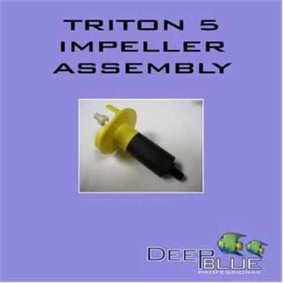 Deep Blue Professional Presents Deep Blue Triton Impeller with Shaft Db Triton5 Replacement. Replacement Impeller Assembly Includes Ceramic Shaft and Rubber Bushings. [31891]