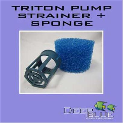 Deep Blue Professional Presents Deep Blue Professional (Db) Triton Strainer/Sponge Kit Db Pump Strainer & Sponge. Triton Pump Strainer & Sponge Kit [31898]