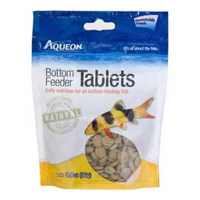 Aqueon Presents Aqen Bottom Feeder Tabs 3oz Pouch. [31976]