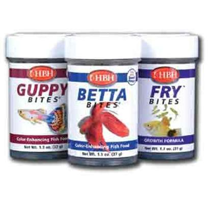Hb.H. Enterprises Presents Hbh Betta Bites Mini Granules-3.6oz. Betta Food Designed Resemble Small, Floating Insects on the Water's Surface to Trigger Immediate Feeding Response. Nutrient-Rich and Packed with Color-Enhancers. 3.6 Oz [31996]