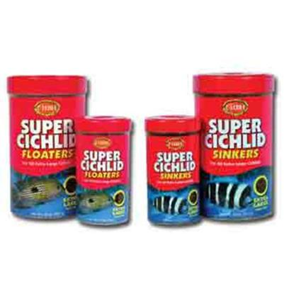 Hb.H. Enterprises Presents Hbh Super Cichlid Floater 20oz. Loaded with Nutrients and Natural Color-Enhancing Ingredients. Both Formulas Contain all the Essential Vitamins and Minerals for Complete Cichlid Health, Growth, and Bright Coloration. Floaters and Sinkers Cater to the Needs of the Various Feeding Behaviors of the Wide Variety of Large Cichlids. 16.5oz [32021]
