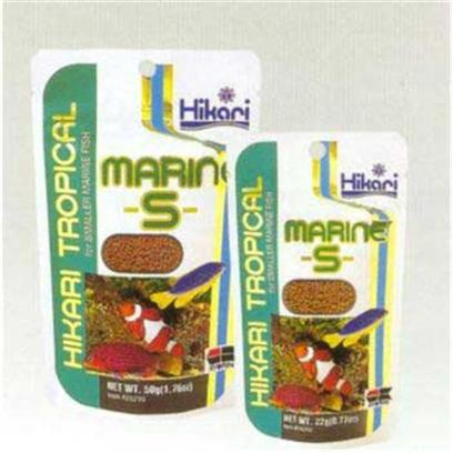 Hikari Usa Presents Hikari Marine S Pellets 50gm. Marine-S™ is Formulated to Establish Proper Metabolism while Maintaining Good Digestive System Health. The Digestive Tract is where Many Bacterial and Fungal Diseases Begin. Marine-S™ will Enhance the Brilliant Colors you Bought your Marine Fish for, Helping them Look their Best. Our Oxygen Barrier Bag Helps Lock-in the Nutrition and Provide you with the Finest, Non-Frozen Marine Food Available Today! [32066]