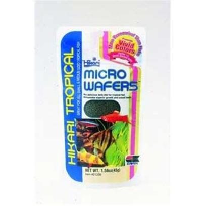 Hikari Usa Presents Hikari Micro Wafers 1.58oz. Another Hikari Original, an Easily Devoured, Minature (Micro) Wafer Developed Specifically for Most Tropical Fish who are Typically Fed Flakes [32070]