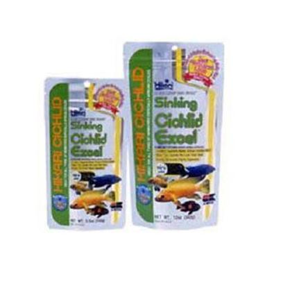 Hikari Usa Presents Hikari Sinking Cichlid Excel 3.5oz. Floating Pellet that will not Cloud the Water. [32075]