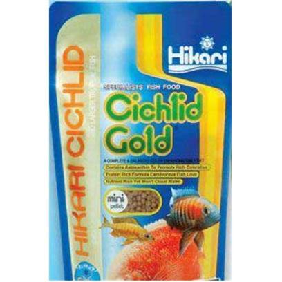 Hikari Usa Presents Hikari Sinking Cichlid Gold Mini 2.2lb. Sinking Pellet that will not Cloud the Water. Allows Easy Monitoring of Amount Eaten. Helps Eliminate over-Feeding. Reduces Water Quality Problems. More Economical. [32081]