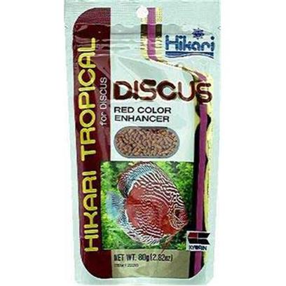 Hikari Usa Presents Hikari Tropical Discus Red Bio-Gold Color 2.82oz. Red Discus was Specifically Developed for Discus, Taking into Account their Need for Higher Protein Levels. Additionally, Discus have a Unique Eating Technique and are Known to be Finicky Eaters. Red Discus has been Manufactured to Reduce the Mess Caused by a Discus' Normal Eating Routine and Formulated for Maximum Acceptance. [32093]