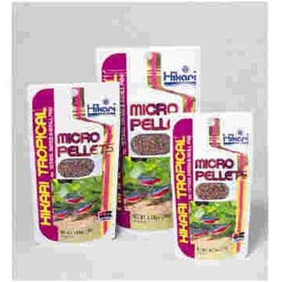 Hikari Usa Presents Hikari Tropical Micropellet .77oz. Uniquely Colored Pellets Red Pellet Provides Necessary Protein and Amino Acids Yellow Pellet Provides Necessary Vitamins &amp; Minerals Green Pellet Provides Vegetable Fiber Semi-Floating Pellet Ideal for Surface and Mid-Water Feeders will not Cloud the Water Excellent Choice High in Stabilized Vitamin C to Reduce Stress and Build Immunity to Disease Bio-Technology Helps your Fish Develop and Maintain Natural, Brilliant Colors Better Value than Feeding Flake &amp; Less Chance of Water Quality Problems Developing [32097]
