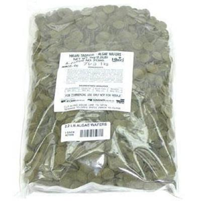 Hikari Usa Presents Hikari Tropical Algae Waffer 2.2lb Bulk Sinking Wafers. Algae Wafers were Specifically Developed for the Hard to Feed Plecostomus and Other Algae Eating Bottom Feeders. Hikari was the Originator of this Diet, Now Copied by Many. Accept no Substitutes, Request the First and Finest, Algae Wafers. [32104]