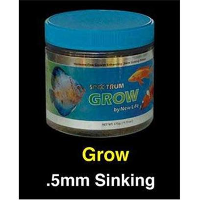 New Life International Presents Nls Grow Sinking Spectrum Formula 275gm. New Life Spectrum Food is Made with High-Quality Easily Digestible South Antarctic Krill, Herring, Squid, and New Zealand Mussel Protein, and Several all-Natural Color-Enhancing Ingredients for a Balanced Diet that Boosts Immune System Function and Enhances the Full Spectrum of your Fish's Color. With the Belief that all Fish Require a Complete and Fully Balanced Varied Diet, New Life also Contains Algae Meal, that Consists of Seaweed, Kelp, and Haematococcus Pluvialis (a Micro Algae), a Premium Grade of Natural Spirulina, as Well as a Fruit & Vegetable Extract that Consists of Spinach, Red & Green Cabbage, Peas, Broccoli, Red Pepper, Zucchini, Tomato, Kiwi, Apricot, Pear, Mango, Apple, Papaya, and Peach. All New Life Spectrum Products also Contain a Generous Inclusion Rate of Garlic (Allium Sativum) with the Thera-a Formulas Containing a Mega-Dose of this Natural Anti-Parasitic Ingredient. All Ingredients Used are Almost Identical, Since we Cannot Find Anything Better than what we are Using. However, the Crude Analysis will be Different Due to the Percentage of Ingredients Incorporated into a Specific Formula. Typical Ingredients Whole Antarctic Krill Meal, Whole Herring Meal, Wheat Flour, Whole Squid Meal, Algae Meal, Soybean Isolate, Beta Carotene, Spirulina, Garlic, Vegetable and Fruit Extract (Spinach, Broccoli, Red Pepper, Zucchini, Tomato, Pea, Red and Green Cabbage, Apple, Apricot, Mango, Kiwi, Papaya, Peach, Pear), Vitamin a Acetate, D-Activated Animal-Sterol (D3), Vitamin B12 Supplement, Thiamine, Dl Alphatocophero ( E ), Riboflavin Supplement, Folic Acid, Niacin, Biotin, Calcium Pantothenate, Pyridoxine Hydrochloride, L-Ascorby-2-Polyphosphate (Stable C), Ethylenediamine Dihydroiodide, Cobalt Sulfate, Copper Proteinate, Ferrous Sulfate, Manganese Sulfate, Choline Chloride. [32134]