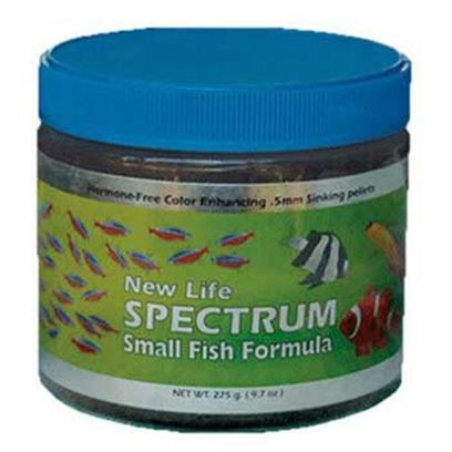 New Life International Presents Nls Mega Fish Sinking Spectrum Formula 485gm. New Life Spectrum Food is Made with High-Quality Easily Digestible South Antarctic Krill, Herring, Squid, and New Zealand Mussel Protein, and Several all-Natural Color-Enhancing Ingredients for a Balanced Diet that Boosts Immune System Function and Enhances the Full Spectrum of your Fish's Color. With the Belief that all Fish Require a Complete and Fully Balanced Varied Diet, New Life also Contains Algae Meal, that Consists of Seaweed, Kelp, and Haematococcus Pluvialis (a Micro Algae), a Premium Grade of Natural Spirulina, as Well as a Fruit &amp; Vegetable Extract that Consists of Spinach, Red &amp; Green Cabbage, Peas, Broccoli, Red Pepper, Zucchini, Tomato, Kiwi, Apricot, Pear, Mango, Apple, Papaya, and Peach. All New Life Spectrum Products also Contain a Generous Inclusion Rate of Garlic (Allium Sativum) with the Thera-a Formulas Containing a Mega-Dose of this Natural Anti-Parasitic Ingredient. All Ingredients Used are Almost Identical, Since we Cannot Find Anything Better than what we are Using. However, the Crude Analysis will be Different Due to the Percentage of Ingredients Incorporated into a Specific Formula. Typical Ingredients Whole Antarctic Krill Meal, Whole Herring Meal, Wheat Flour, Whole Squid Meal, Algae Meal, Soybean Isolate, Beta Carotene, Spirulina, Garlic, Vegetable and Fruit Extract (Spinach, Broccoli, Red Pepper, Zucchini, Tomato, Pea, Red and Green Cabbage, Apple, Apricot, Mango, Kiwi, Papaya, Peach, Pear), Vitamin a Acetate, D-Activated Animal-Sterol (D3), Vitamin B12 Supplement, Thiamine, Dl Alphatocophero ( E ), Riboflavin Supplement, Folic Acid, Niacin, Biotin, Calcium Pantothenate, Pyridoxine Hydrochloride, L-Ascorby-2-Polyphosphate (Stable C), Ethylenediamine Dihydroiodide, Cobalt Sulfate, Copper Proteinate, Ferrous Sulfate, Manganese Sulfate, Choline Chloride. 2mm Pellet Saltwater or Freshwater Use [32157]