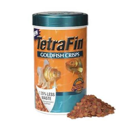 Tetra Usa Presents Tetra Goldfish Crisps 7.76oz. Each Crisp is 'Color Coded' in Order to Easily see the Benefits the Crisp Delivers to your Fish Green Spots Indicate Healthy Spirulina Algae the Promotes Richer Color; Yellow Spots are Packed with Krill, which Enhances Muscle Growth; the Outer Ring of Each Crisp Contains all Essential Nutrients. [32281]