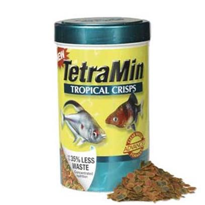 Tetra Usa Presents Tetra Min Crisps Tropical 6.53oz. These Highly Digestible Crisps Generate as Much as 35% Less Waste than Competing Flake Foods. Each Crisp is 'Color Coded' so that you can Easily see the Benefits to your Fish Green Spots = Healthy Spirulina Algae that Promote Richer Color in your Fish; Red Spots = High Level of Carotenoids to Enhance Color; Orange Spots = High Protein Krill to Stimulate Muscle Growth. [32288]