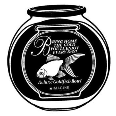 Imagine Gold Presents Imagine Gold (Img) Deluxe Round Bowl 3gallon 2cs Fish. 3 Gallon Deluxe Round Style [32356]