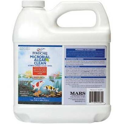 Aquarium Pharmaceuticals Presents Aquarium Pharmaceuticals (Ap) Pond Micro Algae Clean 64oz. Protection Agency). This Product Contains Patented Bacteria to Control Green Water Algae in Ponds with Live Fish and Plants. The Bacteria Help Establish and Maintain a Clean Pond, Free of Algae. They also Help Improve Dissolved Oxygen Levels and Reduce Noxious Odors from the Pond. Biological Inhibitor of Green Water Algae. Promotes a Cleaner Pond Environment. Eliminates Troublesome Organic Sludge and Debris. Will not Harm Live Plants or Fish. [32612]