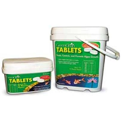 Bio Safe Systems Presents Bs Green Clean Tabs 3lb. Same Formulation as Green Clean Granular Algaecide but Compressed into Tablets for Easy Application Use. No Measuring Required. Slow Release Maintenance Application. Non-Harmful to Fish, Aquatic Plants and Pets. Use 1 Tablet Per 200 Gallons. [32655]