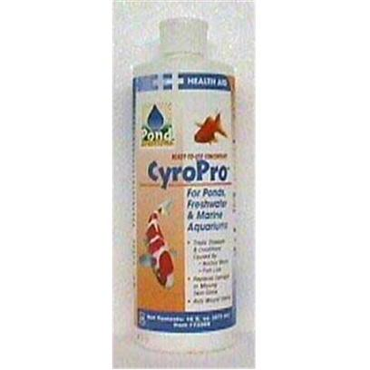 Hikari Usa Presents Hikari Pond Cyropro 16oz Anchor Worm Treatment-16oz. Liquid Cyropro is a Ready-to-Use, Liquid Concentrate that was Developed to Offer the Hobbyist an Effective Way to Control Conditions Caused by Anchor Worm and Fish Lice in their Pond, Freshwater or Marine Aquarium. Extremely Safe and Super Effective this Revolutionary Product Offers you Rapid Control yet will not Negatively Impact your Biological Filtration. Send Those Undesirable Visitors on their Way, Try Liquid Cyropro Today! [32667]