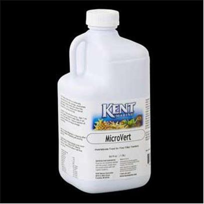 Kent Marine Presents Kent Marine (Kent) Micro Vert 64oz Kent. Kent Marine Microvert is a Nutritionally Balanced Diet for Corals, Sponges, Anemones, Gorgonians, Feather Dusters and Other Fine Filter Feeders. Rich in Vitamins and Natural Minerals from Spirulina and Kelp. 64 Oz [32682]