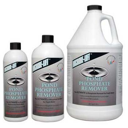 Ecological Labs (Microbe-Lift) Presents Mic Phosphate Remover 32oz Pond. The Ultimate Phosphate Remover for Fresh Water Microbe-Lift/Pond Phosphate Remover is a Polymeric Blend with Outstanding Qualities, Including the Ability to Tie-Up Large Quantities of Phosphate without Negatively Influencing the Pond Water in any Way. Phosphate-Caused by the Decomposition of Organic Substances Such as Food Surpluses, Dead Plant Matter and Excretion-is only Harmless in Concentrations Below 0.3 Ppm in Fresh Water. Will not Harm Fish or Plants Safely Removes Phosphate from Pond Water [32734]