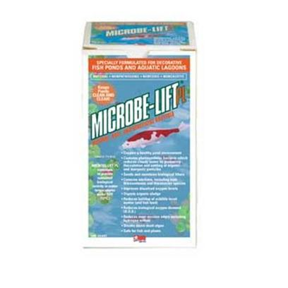 Ecological Labs (Microbe-Lift) Presents Micro-Life Pond Pl Bacteria Bacterial Water Conditioner Gallon. Specially Formulated for Decorative Fish Ponds, Lagoons &amp; Smaller Water Features Creates a Cleaner Environment for your Pond, Promoting Faster Fish Growth Reduces Ammonia Nitrogen Levels Dissolves Away Organic Sludge Seeds and Maintains Biological Filters Significantly Reduces Noxious Odors Caused by Dead Algae, Fish Fecal Matter, and Urine Reduces Hydrogen Sulfide, which Creates Strong, Offensive Odors Reduces Biological Oxygen Demand (B.O.D.) Reduces Buildup of Bird Droppings, Fish Feed and Dead Leaves Breaks Down Dead Algae Improves Dissolved Oxygen Levels Contains Photosynthetic Bacteria which Reduces Cloudy Water by Promoting Flocculation and Settling of Organic and Inorganic Particles Effective over a Wide Range of Ph Conditions [32758]