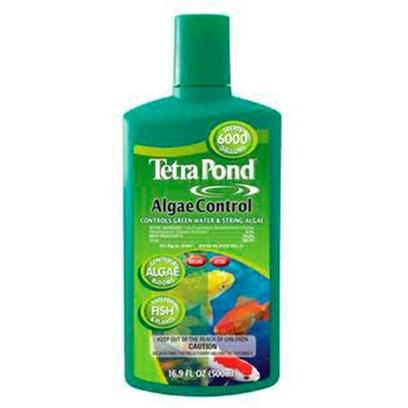 Tetra Usa Presents Tetra Pond Algae Control 16.9oz. Effective at Combating Algae Blooms (Green Water), String and Hair Algae (Spirogyra) and Blanket Weed (Oedogonium). Safe for Ornamental Plants and Fish. [32802]