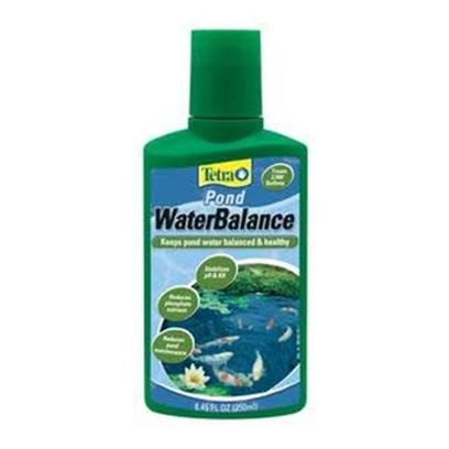 Tetra Usa Presents Tetra Water Balance Pond 8.4oz (240ml). Tetrapond Water Balance Maintains Optimal Water Conditions by Stabilizing Ph and Carbonate Hardness (Kh). This Effective Formula Restores Essential Vitamins and Minerals that are Lost over Time. Reduces Phosphate Nutrients and Supports Plant Growth. [32824]