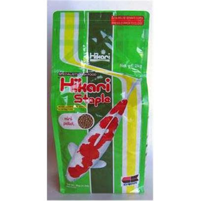 Hikari Usa Presents Hikari Staple 17.6oz-Medium Pellet. Hikari Staple is an Economical, Daily Diet for Koi as Well as Other Pond Fishes. It Contains all the Basic Nutrition your Fish Need to Live a Long and Healthy Life. High in Stabilized Vitamin C, Hikari Staple Promotes Resistance to Stress and Immunity to Infectious Disease. If You're Looking for the Best Diet for your Pet and Pocketbook this is It! [32859]