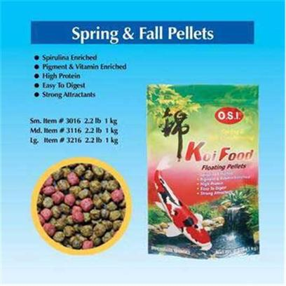 Buy Ocean Star International Spring/Fall Conditioning Food Koi products including Ocean Star International (Osi) Spring/Fall Conditioning Food Koi 2.2lb, Ocean Star International (Osi) Spring/Fall Conditioning Food Koi 2.2lb (32919) Category:Goldfish Food Price: from $26.99