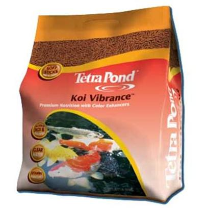Tetra Usa Presents Tetra Koi Sticks Food Vibrance 8.27lb. A Highly Nutritional Diet that Brings out Vibrant Reds and Yellows on Koi and Ornamental Goldfish. Feed in Spring, Summer and Fall, when Water Temperatures are 50 Degrees Fahrenheit and Above. [32937]
