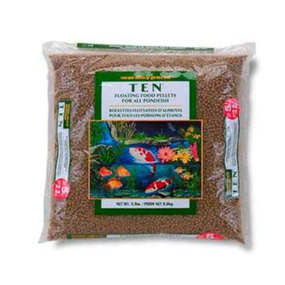 Wardley Presents Ward Pond 10 Sticks 5lb (Bag). Wardley(R)Pond(Tm) Ten Pellets(Tm) is a Nutritionally Balanced Food Formulated for all Pond Fish. This Highly Digestible Formula is Specifically Designed for the Energy Needs of Koi and Goldfish. [32963]