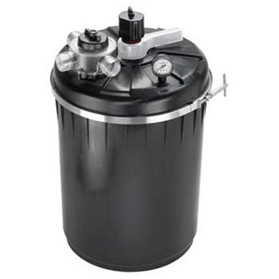 "Supreme (Danner Inc) Presents Supreme (Danner Inc) (Sup) Pressurize Filter +Uv Puv-2000 2000gal. Gallon Capacity - 4000 for Use with Pumps of 1000 - 3000gph Max Pump Height 20' 40 Watt Uv Sterilizer Internally Mounted - Helps Eliminate Green Water Agitator Unlocks Waste from Media Saving the Amount of Water Discharged During Backwash and Rinse Cycles Unique, Patent Pending 3-Way Master Valve Locks into ""Run"", ""Rinse"" and ""Backwash"" Settings Clear-Vue Inspection Port to Monitor Water Clarity During Backwash/Rinse Operation Positive Pressure Lock Ring to Ensure a Tight Water Seal Bio-Matrix Media Affords Maximum Surface Area for Beneficial Bacteria Growth Heavy Duty Poly Canister can be Buried for Hidden Installation Integrated Waterproof Uv Transformer Optional Field-Installed Bottom Drain Available (not Included) 1 1/2"" Threaded Fittings, Ball Valves for Waste Line and Swivel Fitting Included [33063]"