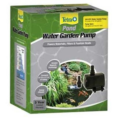 Tetra Usa Presents Tetra Pond Wg Pump 550gph Water Garden 325gph. Pond Wg Water Pump. [33154]