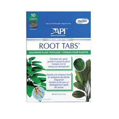 Aquarium Pharmaceuticals Presents Aquarium Pharmaceuticals (Ap) Root Tabs 10-Count. Tablet Fertilizer Containing Key Essential Nutrients to Stimulate Plant Growth; Rich in Iron for Strong Roots [33161]
