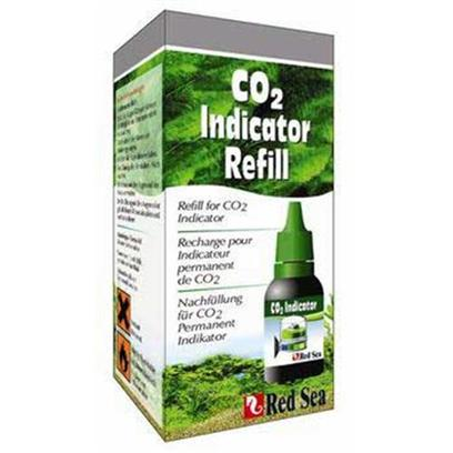 Red Sea Fish Pharm Presents Red Sea Co2 Indicator Refill. Full Size Indicator Solution Refill for the Red Sea Real Time Co2 Indicator. [33189]
