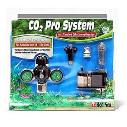 Red Sea Fish Pharm Presents Red Sea Co2 Pr0 System Pro Standard. Includes Red Sea Reactor 500, Co2 Regulator, High Precision in-Line Needle Valve, Bubble Counter with Integrated Check Valve, Real Time Co2 Monitor, and 3 Meters of Co2 Tubing. Red Sea is Pleased to Introduce an Exciting New Co2 System for Planted Aquariums. The Pro System is a Complete, Efficient and User-Friendly System to Maintain a Desired Level of Co2 in Planted Aquariums from 10 to 125 Gallons (40 to 500 Liters). [33192]