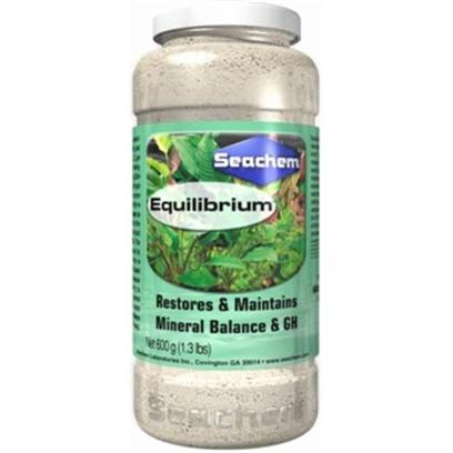 Seachem Laboratories Presents Seachem Equilibrium 600gm. Equilibrium is Specifically Designed to Establish the Ideal Mineral Content for the Planted Aquarium. Equilibrium Contains no Sodium or Chloride (which can be Detrimental to a Planted Aquarium at Elevated Levels). Equilibrium is Ideally Suited for Use with Ro (Reverse Osmosis) or Di (Deionized) Water or any Mineral Deficient Water. Equilibrium Raises the Essential Mineral/Electrolyte Content (General Hardness) of the Water to Balance with and Promote Stability of the Carbonate Hardness. To Maintain Kh, we Recommend Alkaline Buffer. [33199]