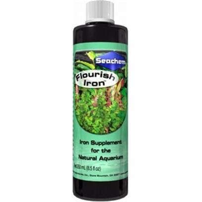 Buy Seachem Flourish Iron products including Seachem Flourish Plant Nutrients 100ml, Seachem Flourish Plant Nutrients 250ml, Seachem Flourish Plant Nutrients 500ml, Seachem Flourish Plant Nutrients 50ml, Seachem Flourish Plant Nutrients 2 Liter, Seachem Flourish Iron Plant Supplement 100ml Category:Plant Care Price: from $2.99