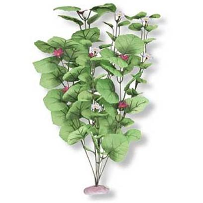 Blue Ribbon Presents Blue Ribbon (Br) Plant Broad Lily Leaf X-Large. Br Colorburst Plant Xlarge 18 to 19&quot; Tall - Broad Lily-Leaf with Flowering Buds with Soft Silk-Style Flowers &amp; Leaves that Sway Naturally in Water. [33254]
