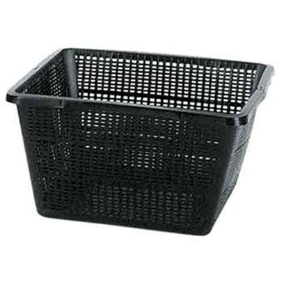Coralife Presents Pond Basket-Square Small-7'x7'x3'h. Pondlife Pond Baskets are Sturdy and Durable. They are Specially Constructed to Allow Maximum Water Flow through Root Systems of Pond Plants, while Preventing Fish from Grazing on Root Systems. A Variety of Shapes and Sizes Make it Possible for Garden Pond Hobbyists to Plant Varying-Sized Plants in Different Areas. 9&quot;X9&quot;X5.25&quot; [33409]